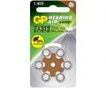GP 助聽器電池ZA312 6粒咭裝