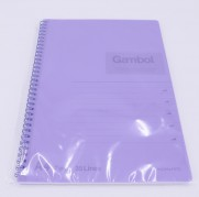 Gambol A4 PP面 80頁筆記本 Gambol A4 PP Cover 80 Pages Notebook