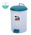 18升 圓形腳踏垃圾桶
