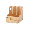 DELI 79220 木質組合多功能文件櫃(三聯)