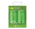 GP ReCyko+ 新一代綠色充電池 2200 系列 2200mAh D 2粒盒裝