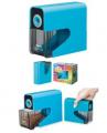 ASMIX - 電動鉛筆刨機(乾電池) 藍色