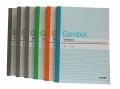 GAMBOL WCN-G5807 A5單行簿(80頁)