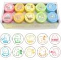 角落小夥伴 角落生物 Sumikko gurashi 10粒裝圓形印章