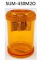 KUM - 德國 鎂合金 雙孔圓桶 鉛筆刨 橙色