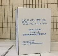 W.C.T.C 綑箱膜(藍色字) 3