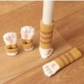 Milan-創意貓咪肉墊造型桌椅腳套 四只裝 靜音防滑防刮花