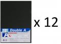 Double A - A4 L型膠快勞(單層)/灰色 x 12個