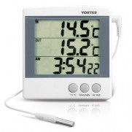 YORTER EM899 電子室內外溫度計連鬧鐘