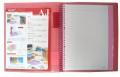 EASYMATE AJ3020 A4 30孔可加頁資料簿-10張內頁袋連5色膠INDEX