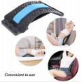 Milan-背部擔架 - 下部和上部疼痛緩解,腰部拉伸裝置,姿勢矯正器 男女背部拉伸器 腰部勞損按摩 家用矯正器靠墊 脊椎護腰帶