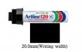 ARTLINE EK-120 特粗箱頭筆(方頭)