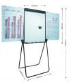 日通牌 Nipon U-Shaped Flipchart U型夾紙白板 (70x92cm)