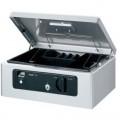 PLUS CB-020FP 電子錢箱(指紋) 銀灰色