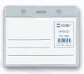 GLOBE GN406 90X62mm 橫身軟膠證件牌(淨牌)