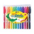 Amos 12色水溶臘筆 / Colorix? 旋轉3合1水彩粉彩蠟筆, 12色套裝