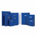 GRANDLUXE 010423 A4 精裝藍面單行簿 (96頁)