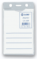 GLOBE GN409 60X90mm 直身軟膠證件牌(淨牌)