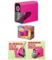 ASMIX - 電動鉛筆刨機(乾電池) 粉紅色