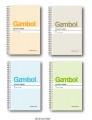GAMBOL WCN-SA6506Y A6長線圈簿(50頁)