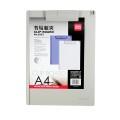 DELI 9253 A4 實色膠單板夾(可夾筆)