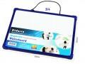 Kidario KWB-2535-B4 膠框磁性白板(25x35cm) 淨板