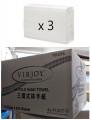 唯潔雅 - 3摺式抹手紙 250張 (透明包裝) x 3包