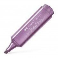 Highlighter TL 46 metallic ruby / Faber Castell - 閃亮金屬色螢光筆