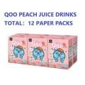 美粒果 ‐  Qoo桃汁飲品200ml  12包裝