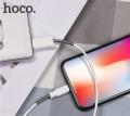 HOCO - X24 白色 雙魚座 iPhone iPad USB 2.4A 充電線 數據線 APPLE LIGHTNING