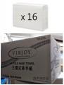 唯潔雅 - 3摺式抹手紙 250張 (透明包裝) x 16包 (1箱)