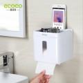 ecoco 無痕免打孔廁所防水紙巾盒 - 細碼 {平行進口}