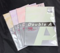 Double A 條紋顏色紙 A4 180gsm (10張裝) ** 清貨 **