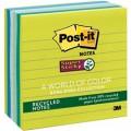 3M 報事貼 675-6SST 彩色超強黏貼環保便條紙 4