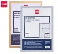 DELI 50870 A3 磁性展示貼(銀色/金色)