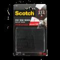 3M Scotch? 762 超強力魔術貼(蘑菇搭扣設計) - 黑色<戶外用>