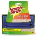 3M Scotch-Brite? 地板百潔刷 - 超強力清潔(7722HK)