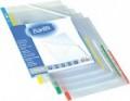 BANTEX 2050 A4 11孔資料簿加頁(0.08厚,彩色邊) 25個裝