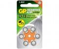 GP 助聽器電池ZA13 6粒咭裝