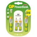 GP 充電寶PB350 - 連鎳氫充電池AA 1300mAh 4粒+AAA 650mAh 2粒