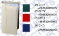 JR CHT1 彩色布皮面一格40張咭片簿