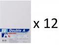 Double A - A4 L型膠快勞(單層)/透明 x 12個