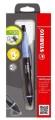 STABILO SMARTgraph 1821/1HB 專為左手設計的力學設計鉛芯筆 + 擦膠筆