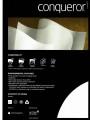 Conqueror A4 剛古紙閃爍紙 250gsm (20張裝)