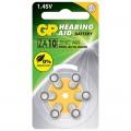 GP 助聽器電池ZA10 6粒咭裝