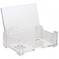 DELI 7621 透明單層咭片盒