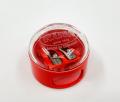 KUM - 德國 鎂合金 雙孔圓頂 鉛筆刨 紅色
