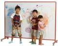 日本馬印牌 LBH44TD 兒童專用活動雙面搪瓷白板(4x4尺)