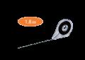 PILOT WBT-EF018 白板線(黑色)