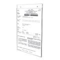 掛牆式亞加力商業登記證展示架 (2孔)